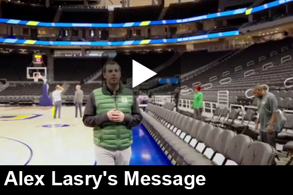Alex Lasry Message